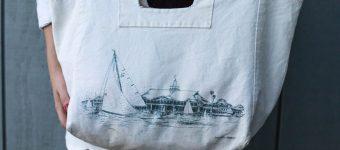 Sailboat Bag & Cableknit